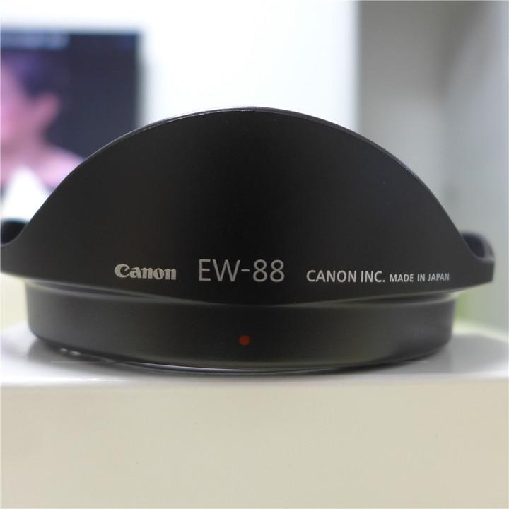 佳能镜头EW-88遮阳罩16-352.8LII植绒原装二代82卡口遮光罩
