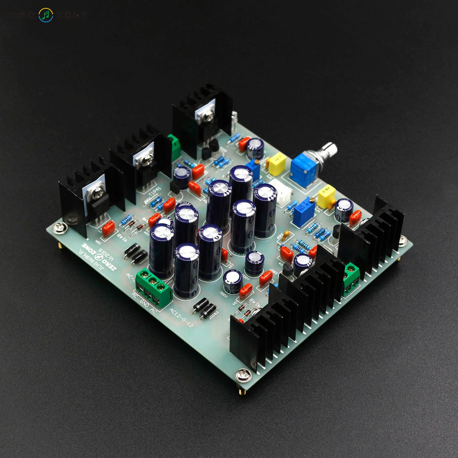 Zerozone Jlh Hood1969 Class A Headphone Amplifier Kit Pre Diy Base On Lehmann Amp Circuit Note Kitneed To Solder All The Components By Yourself Board Is Assembled