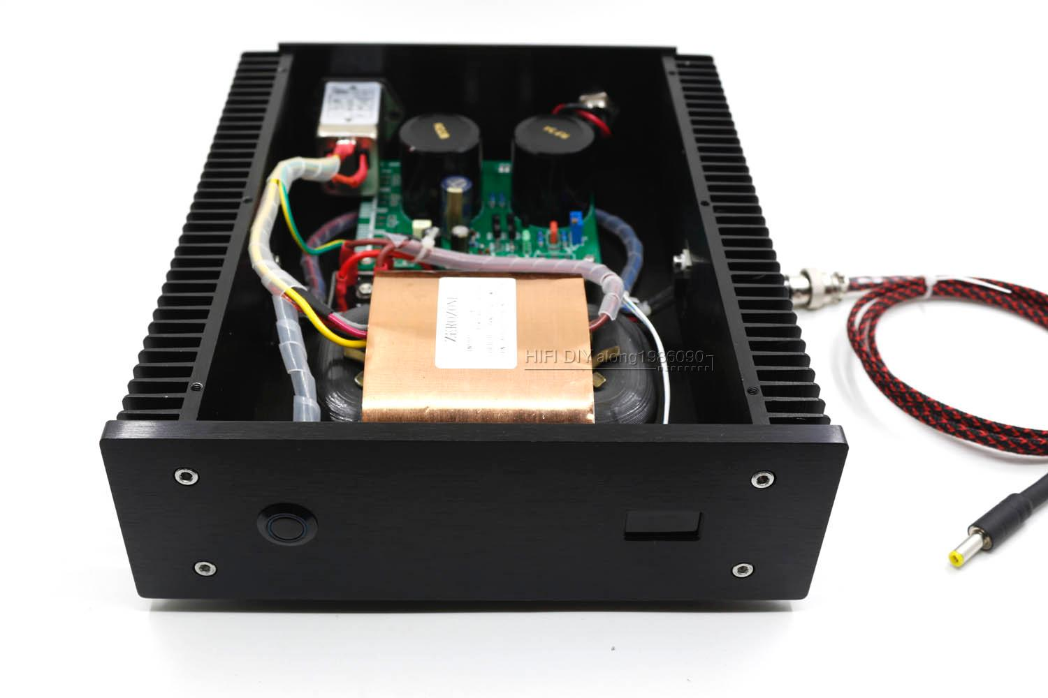 Black 100va 12v 6a Low Noise R Core Dc Lps Linear Power Supply Voltage And Current Limiting Circuit Electrical Following Display Just For Reference