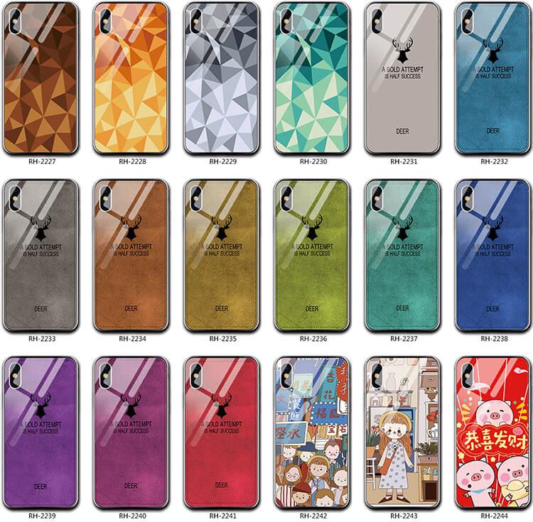 現貨來圖客製化 麋鹿玻璃殼 三星 Samsung note 10 lite A71 A51 A9 A20 手機套 保護殼