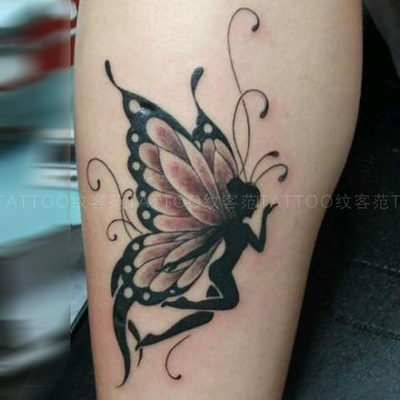 Tattoo Fan Butterfly Tattoo Stickers Angel Tattoo Stickers