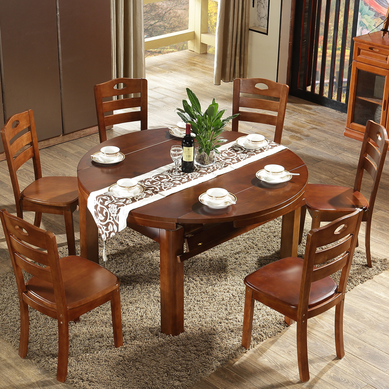 97d1a40d89cc ... walnut color round table folding dining table six · Zoom · lightbox  moreview · lightbox moreview ...