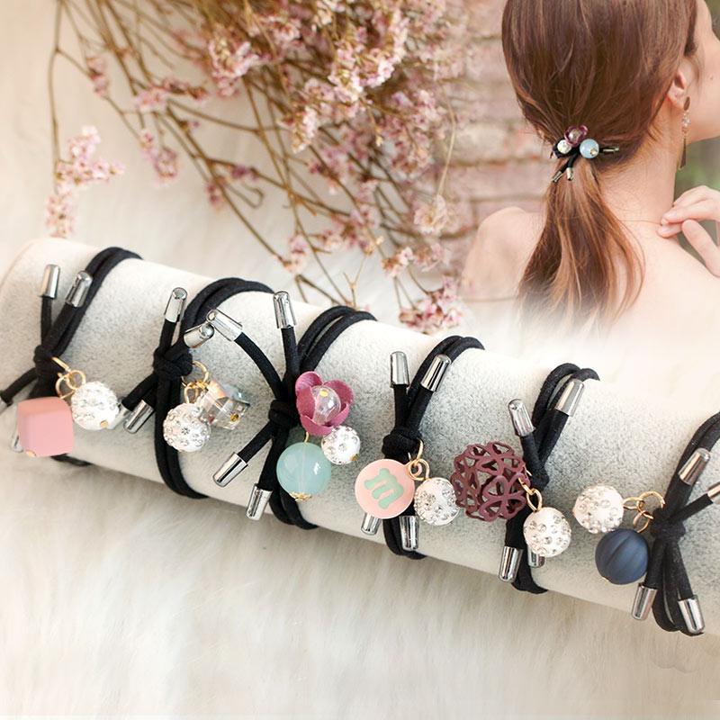 天天特价发饰套装韩国甜美气质扎头发头绳发圈橡皮筋成人黑色发绳