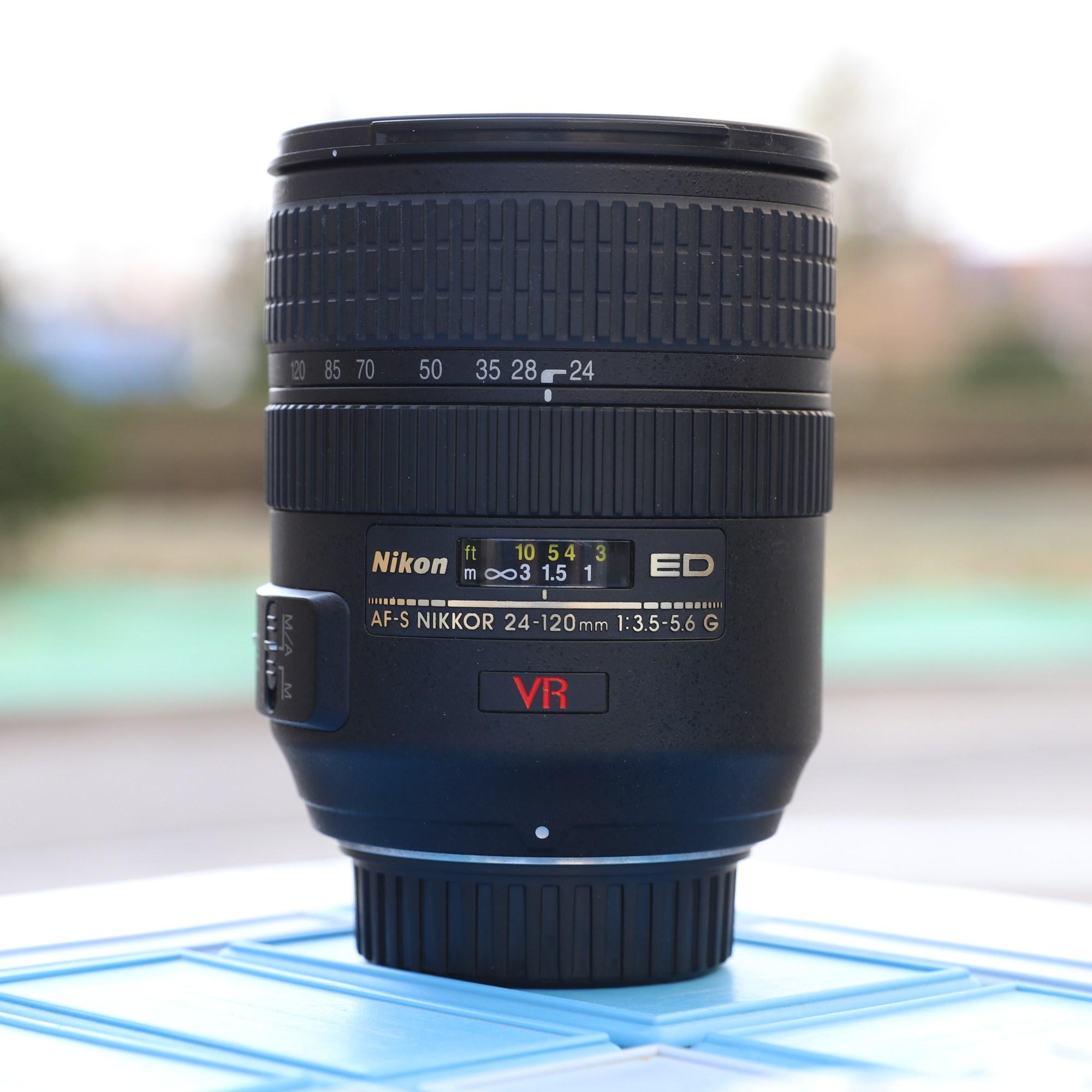 USD 366.17] Nikon DSLR Camera NIkon 24-120 F4 full-frame used ...