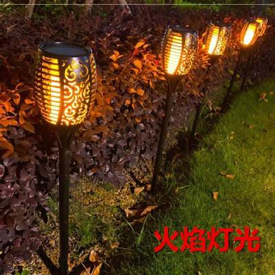 Solar garden light super bright photovoltaic wall light simple modern home European landscape light outdoor green wall light
