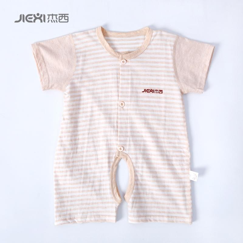 短袖哈衣爬服婴儿夏季儿童连体衣纯棉开档-优惠价10元销量106件