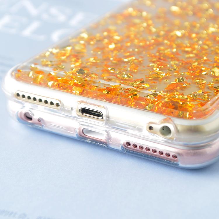 Light - Transparent Glitter TPU Soft Case Iphone X Case
