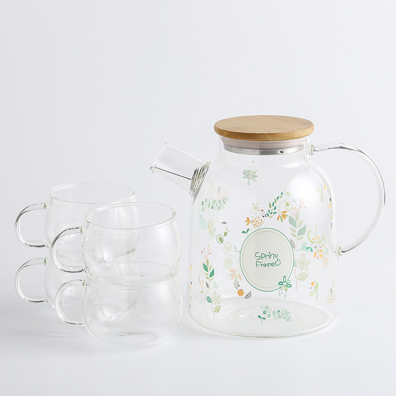 Spring Forest (Large Kettle) + 4 cups