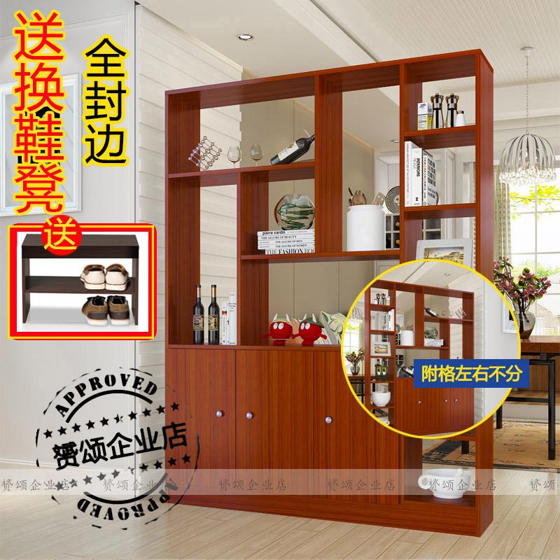 玄关柜隔断柜现代简约鞋柜门厅柜客厅装饰柜餐厅置物架屏风柜酒柜