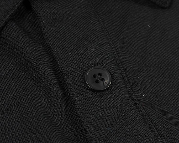 Đơn giản màu rắn mùa hè ve áo ngắn tay t-shirt ánh sáng và nhanh chóng làm khô của nam giới thể thao và giải trí polo shirt lỏng kích thước lớn áo polo có cổ