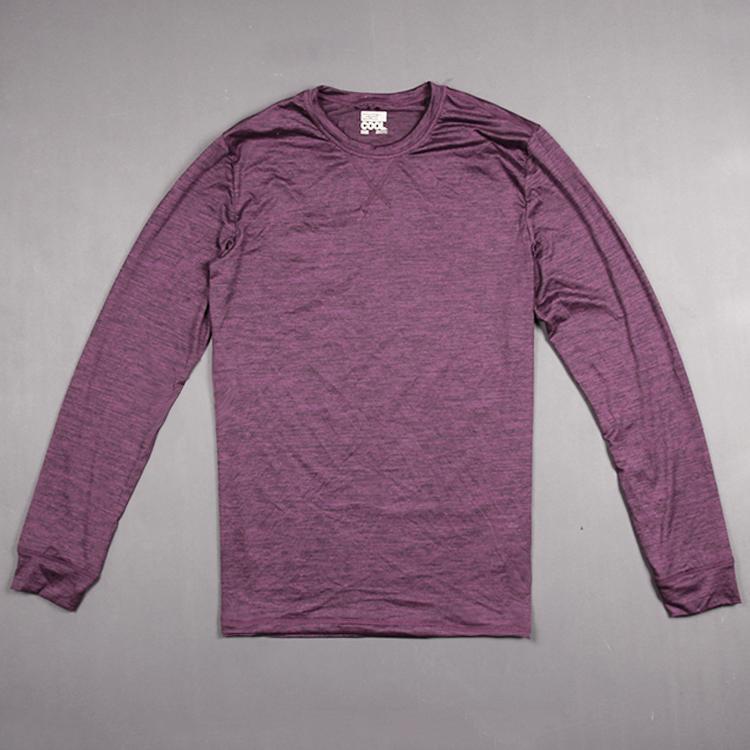 Công nghệ vải cation cao đàn hồi lớn kích thước vòng cổ kem chống nắng thể thao mỏng ngoài trời người đàn ông giản dị của dài tay T-Shirt áo thun polo nam