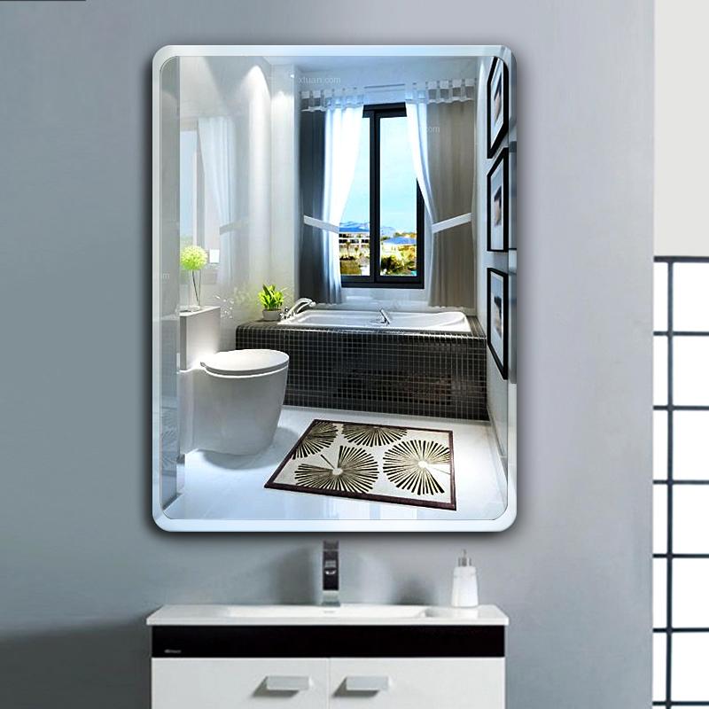 Mirror stickers bathroom