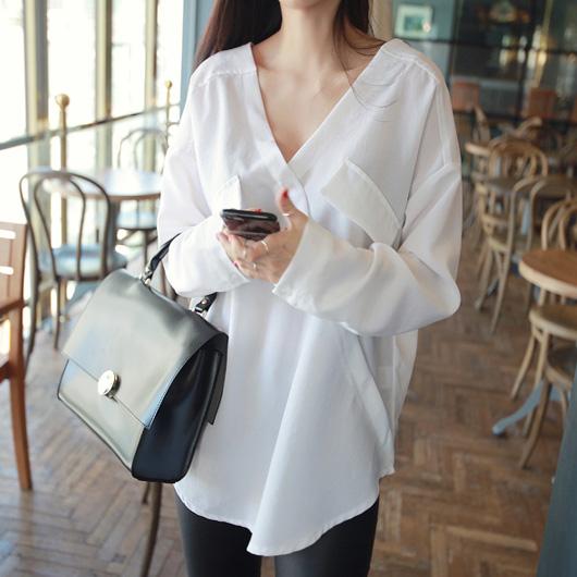 衬衫女夏短袖宽松气质显瘦上衣百搭职业打底雪纺衫工作服白衬衣