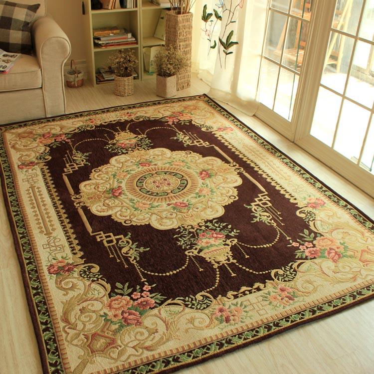 北欧风复古网红客厅卧室编织茶几简约现代地毯床尾毯铺地垫子家用_领取15元淘宝优惠券