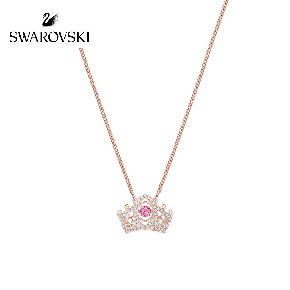 【新品】施华洛世奇BEE A QUEEN 雅致皇冠 妩媚迷人 女项链饰品
