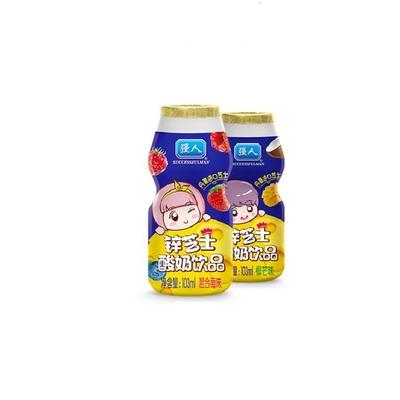 103ml强人锌芝士酸奶饮品1*20瓶果味儿童酸奶整箱