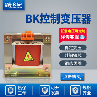Control transformer 380V to 220V 220V to 24V bk1000VA single-phase control transformer