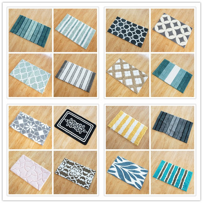 Orphan foreign single thick multi-size foreign trade defect kitchen thick household absorbent non-slip floor mat oil-absorbing carpet