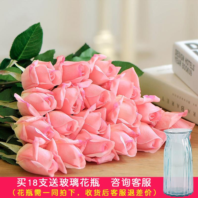 Moisturizing Rose Artificial Flower Home Decoration Flower ...