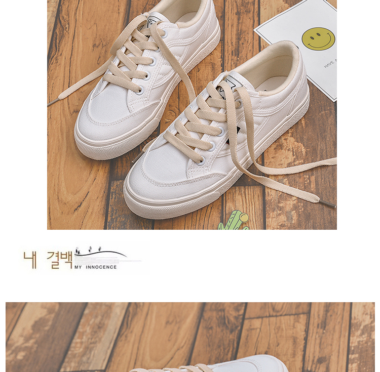 2018 spring new shoes white shoes female wild Korean students canvas shoes 27