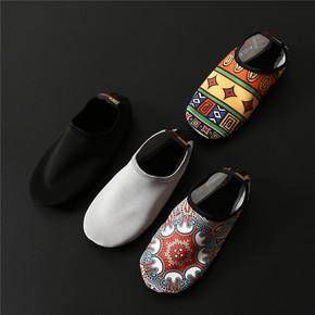 Носки,  Специальность йога женщина мягкое дно скольжение обувной носок печать чулки для йоги сын голый чувствуя свет комнатный пула сандалии йога обувной, цена 322 руб
