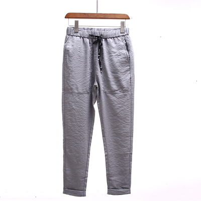 Summer men's casual pants feet large size nine pants men's self-cultivation pants 9 pants men's pants Korean version of the tide 2191
