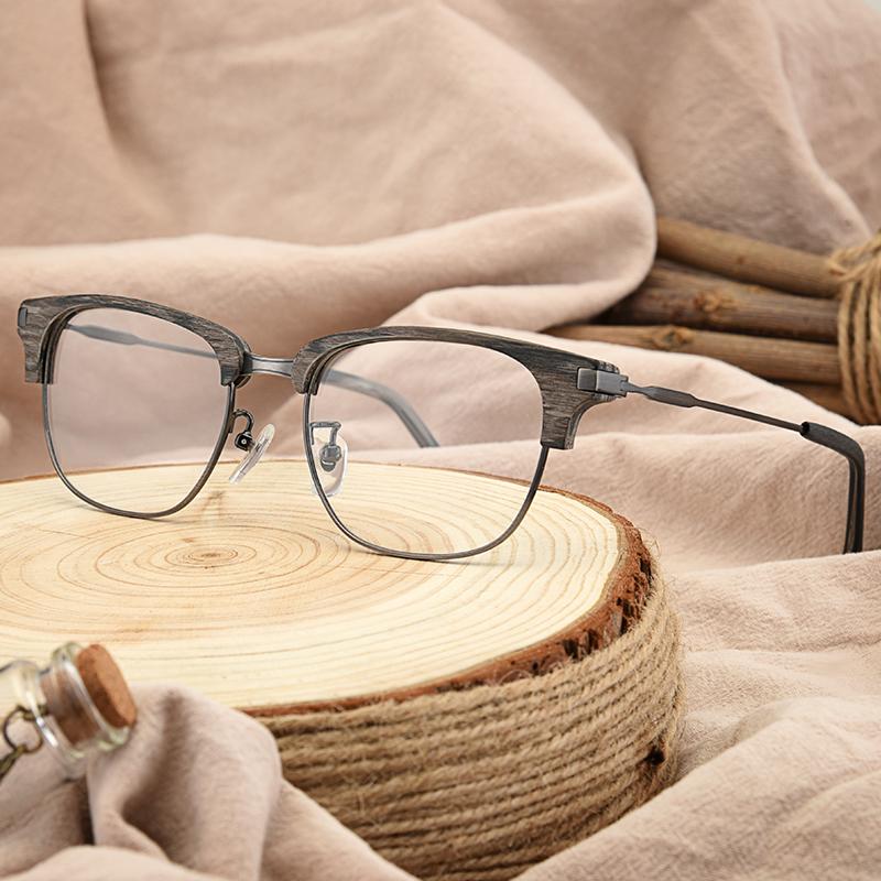 佐道夫薛之谦同款眼镜板材半框大脸镜架男潮a道夫复古眼镜框韩版