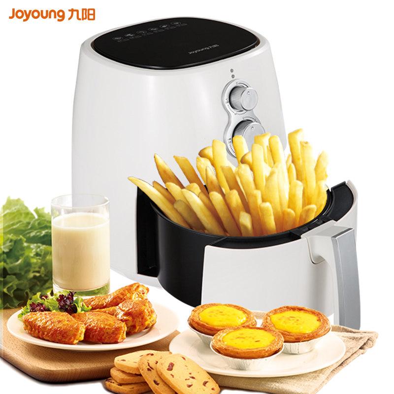 九阳j63a空气电炸锅家用新款特价无油低脂薯条机大容量烤箱全自动
