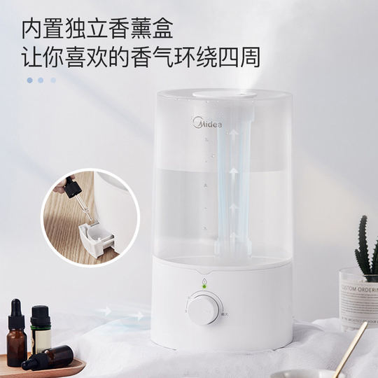 Beautiful humidifier home large capacity high fog purification air bedroom pregnant woman infant aromatherapy essential oil 3E40