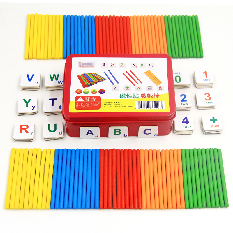 Preschool baby math teaching aids early childhood educational toys ...