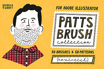 卡通笔刷图案 Patts Brush Collection