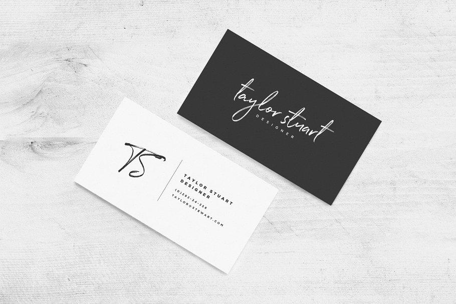 质朴手写英文字体 Northwell Font设计素材模板