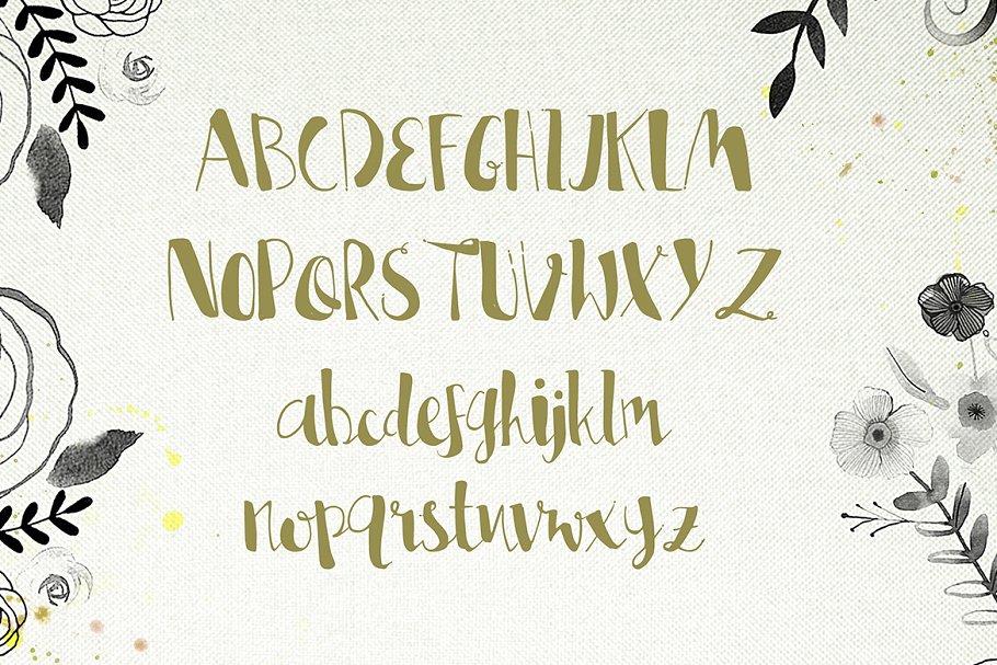 Lisa特别手绘字体 Lisa Marie sc<x>ript设计素材模板