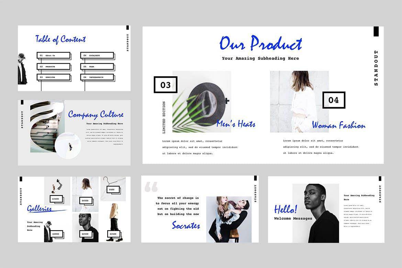 高端时尚的高品质多功能Google Slides幻灯片powerpoint演示模版(pptx)设计素材模板