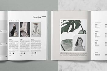 产品目录时尚杂志PSD模板 Catalog + Magazine PSD • Íma