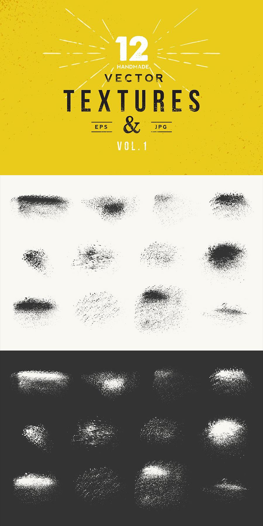 手绘自然肌理点状纹理背景素材[eps]设计素材模板