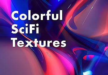 5个缤纷多彩的宇宙素材艺术品背景纹理