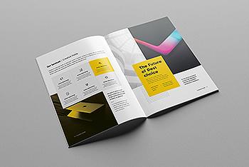 时尚高端简约2020年公司简介画册品牌手册宣传册杂志房地产楼书设计模板