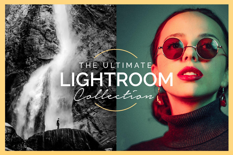 电影级人像滤镜lightroom人像预设lightroom预设下载设计素材模板