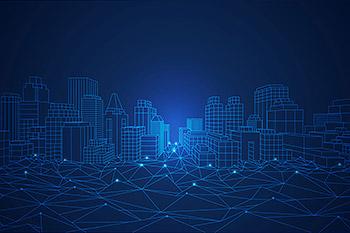 背景纹理智慧城市概念矢量科技素材下载[EPS]