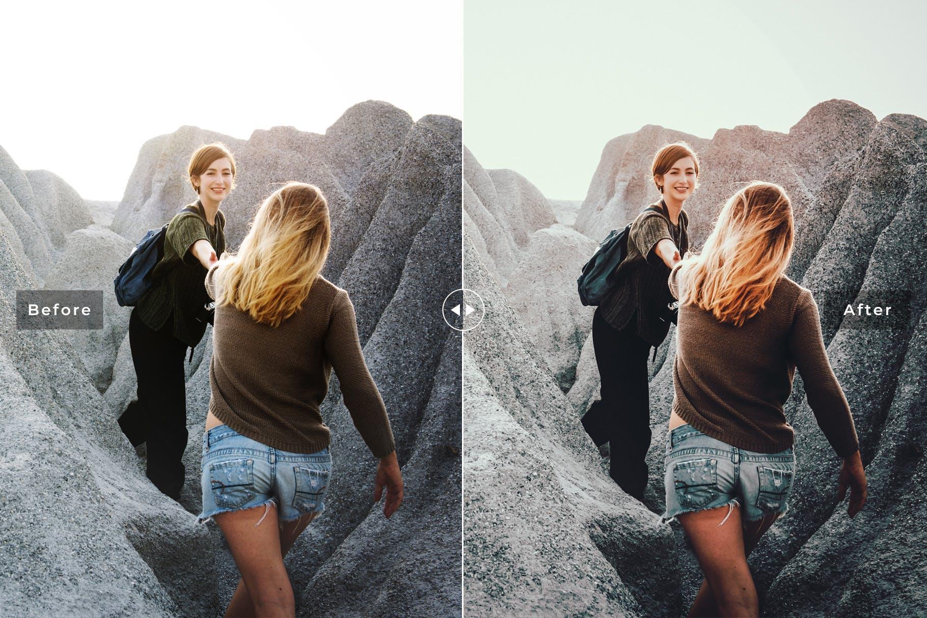旅行风景滤镜lightroom人像预设lightroom预设下载设计素材模板