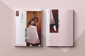 时尚杂志广告画册设计模板 Portfolio & Catalog • Mïa