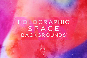 背景纹理   10张多彩丰富全息空间宇宙银河图片VOL.3
