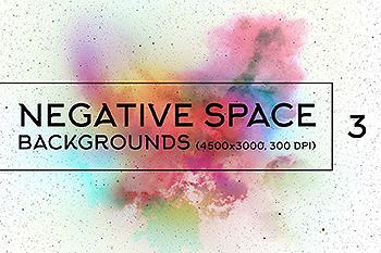 负空间太空高清背景图片素材v3 Negative Space Backgrounds 3