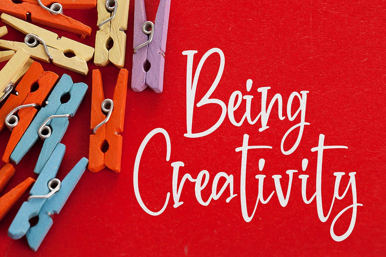 英文书法艺术装饰字体 Crafteria Script Font设计素材模板