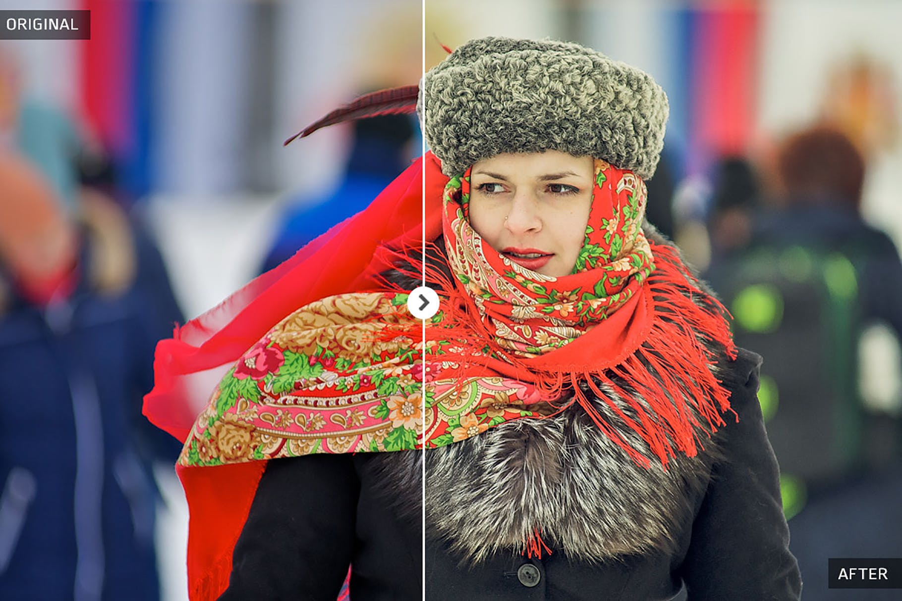 冬季旅行照片lightroom人像预设lightroom预设下载设计素材模板