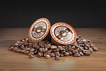 咖啡胶囊外包装设计样机模板 Coffee capsule mockup