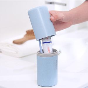 旅行牙刷收纳盒便携式洗漱杯刷牙杯子牙膏牙缸出差旅游漱口杯套装