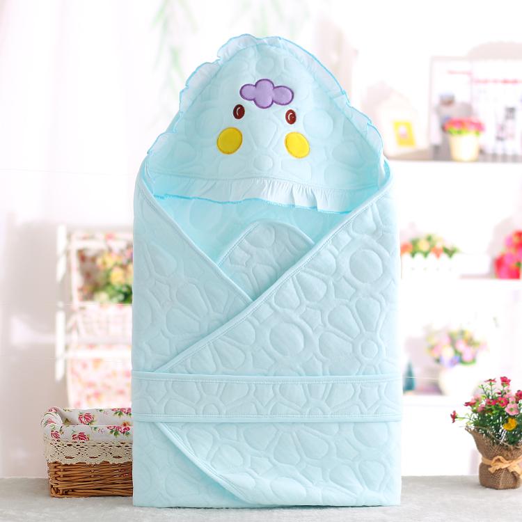夏季薄款包被抱被初生儿浴巾包巾春秋新生儿宝宝抱毯婴儿纯棉用品
