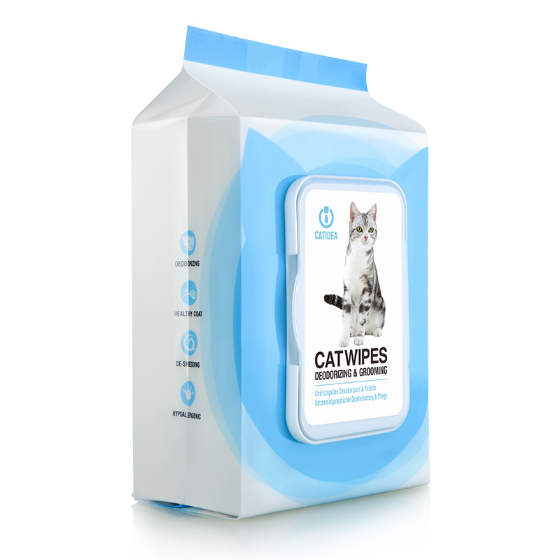CATIDEA 猫乐适 湿巾 宠物猫湿纸巾100片